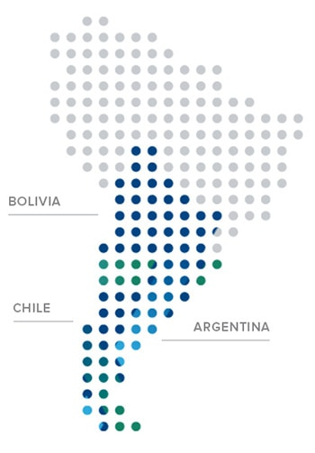 Lithium Brine services in South America